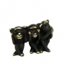 5068 - Walter Bosse Hear, See and Speak No Evil Monkeys - 30 mm
