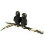 6101 - Walter Bosse Birds on a Branch - 32 mm