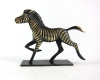 "Zebra by Richard Rohac, 5.5 cm L, Marked ""RR Made in Austria"""