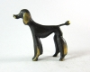 Poodle by Richard Rohac, 4.6 cm H, Unmarked