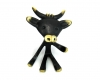 "Cow Pipeholder by Walter Bosse, 11.5 cm T, Marked with ""Handmade in Austria"" sticker"