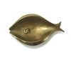 "Fish Ashtray by Walter Bosse, 14 cm H, Marked ""A1"""