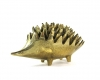 "Walter Bosse Polished Hedgehog Ashtrays, Marked with ""Handmade in Austria, Jesch"" sticker"