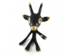 "Walter Bosse Goat Pipe Holder, 11.5 cm, Marked with ""Handmade in Austria"" sticker"