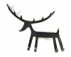 Reindeer Key Rack by Walter Bosse, 21 cm L, Unmarked