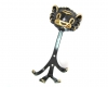 "Lion Coat Hook by Walter Bosse, 17 cm H, Marked ""Made in Austria"""