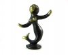 Walter Bosse Miniature Mermaid, 5.2 cm H, Unmarked