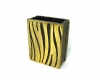 "Walter Bosse Tiger Striped Matchstick Holder, 6 cm L, Marked ""Baller Austria"""