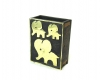 "Walter Bosse Elephant Match Holder, Marked ""Baller Austria"""