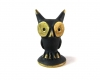 "Eagle Owl by Walter Bosse, 2.6 cm H, Marked ""Baller Austria"""