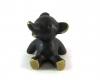 "Sitting Bear by Walter Bosse, 4.4 cm H, Marked ""Baller Austria"""