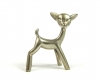 "Sterling Silver Bambi Figurine by Walter Bosse, Marked ""Bosse Austria 800"""