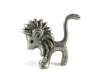 "Walter Bosse Pewter Lion, 2.8 cm H, Marked ""91%"""