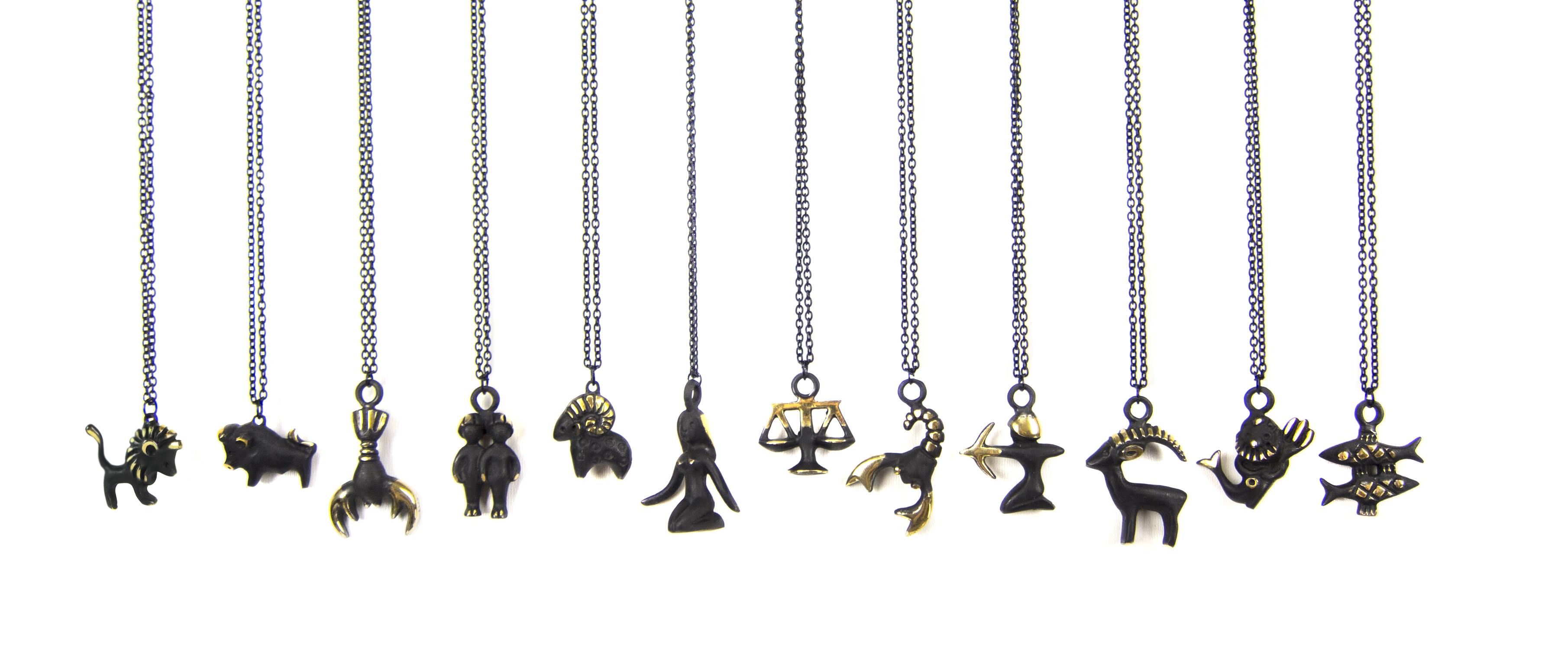 Walter Bosse Necklaces