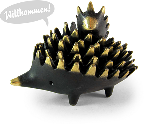 Walter Bosse Hedgehog stacking ashtrays