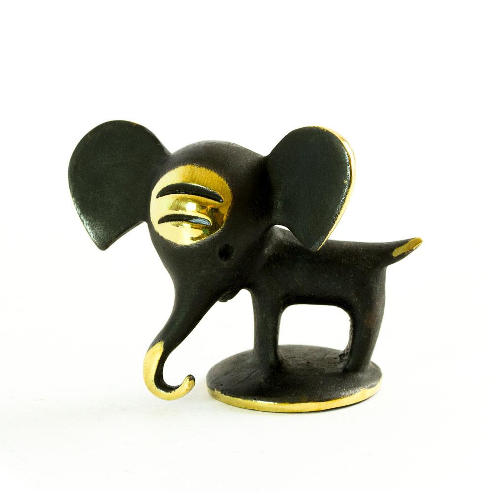 walter bosse brass elephant figurine elefant modern vienna bronze. Black Bedroom Furniture Sets. Home Design Ideas