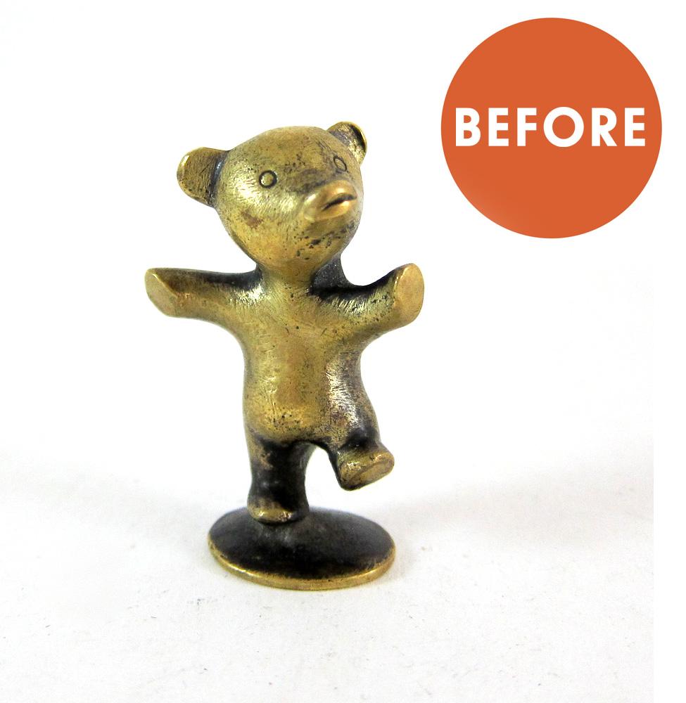 Hagenauer Bear Figurine Restoration