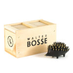 Walter Bosse Bronze Hedgehog Astray and Wooden Box