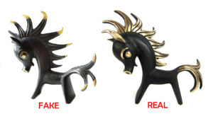Walter Bosse Real vs. Fake English Firehorse