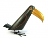 Carved Exotic Wood Toucan Bird by Hagenauer