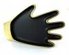 """Hand Dish, Marked """"Hagenauer Wien,"""" """"Made in Austria,"""" """"Handmade,"""" """"WHW"""" Logo"""