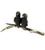 6101 - Walter Bosse Birds on a Branch - 32 mm