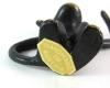 "Walter Bosse Mark -  ""Handmade in Austria"" Gold Foil sticker"