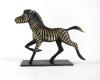 "Zebra by Richard Rohac, 5.5 cm L, Marked ""RR Made in Austria"""