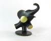 """Metzeler Elephant by Richard Rohac, 5.5 cm H, Marked """"RR Made in Austria"""""""