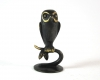 "Owl by Richard Rohac, Marked ""RR Made in Austria"""