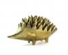"Walter Bosse Polished Hedgehog Ashtrays, Marked with ""Handmade in Austria, Jesch"" sticker"