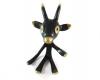 "Walter Bosse Goat Pipe Holder, 11.5 cm, Marked with ""Handmade in Austria"" sticker"