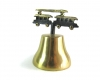 """Trolley Bell by Walter Bosse, 8 cm H, Marked with """"Handmade in Austria"""" sticker"""