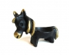 "Horse Egg Cup by Walter Bosse, 9 cm W, Marked with ""Handmade in Austria"" sticker"