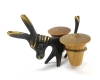 Walter Bosse Donkey with Salt and Pepper Shakers