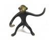 "Monkey Pipe Holder by Walter Bosse, 10 cm T, Marked ""Austria"""