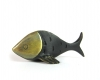 "Fish Toothpick Holder by Walter Bosse, Marked ""Baller Austria"""