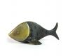 "Fish Toothpick Holder by Walter Bosse, Marked ""Baller Austria"""