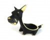 "Terrier Egg Cup by Walter Bosse, 6 cm T, Marked ""Baller Austria"""