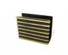 Walter Bosse Striped Matchbox Holder, 5.5 cm L, Unmarked