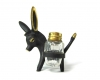 "Walter Bosse Donkey Salt and Pepper Holder, 10 cm H, Marked ""Baller Austria"""