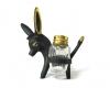 """Walter Bosse Donkey Salt and Pepper Holder, 10 cm H, Marked """"Baller Austria"""""""