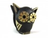 "Walter Bosse Owl Letter Holder, 7 cm H, Marked ""Baller Austria"""