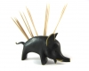 "Walter Bosse Boar Toothpick Holder, Marked ""Baller Austria"""