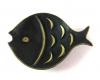 "Walter Bosse Fish Dish, 10.2 cm L, Marked ""Baller Austria"""