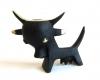 Bull Toothpick Holder, Unmarked