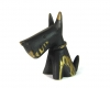 "Scottish Terrier by Walter Bosse, Marked ""Baller Austria"""