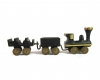 "Train Set by Walter Bosse, Marked ""5292/1"", ""5292/2"""