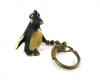 Penguin Keychain by Walter Bosse, 2.5 cm H, Unmarked