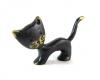 Cat by Walter Bosse, 4 cm L, Unmarked